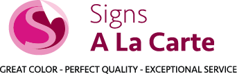 Custom Sign Company | West Chester & Delaware County | Signs A La Carte